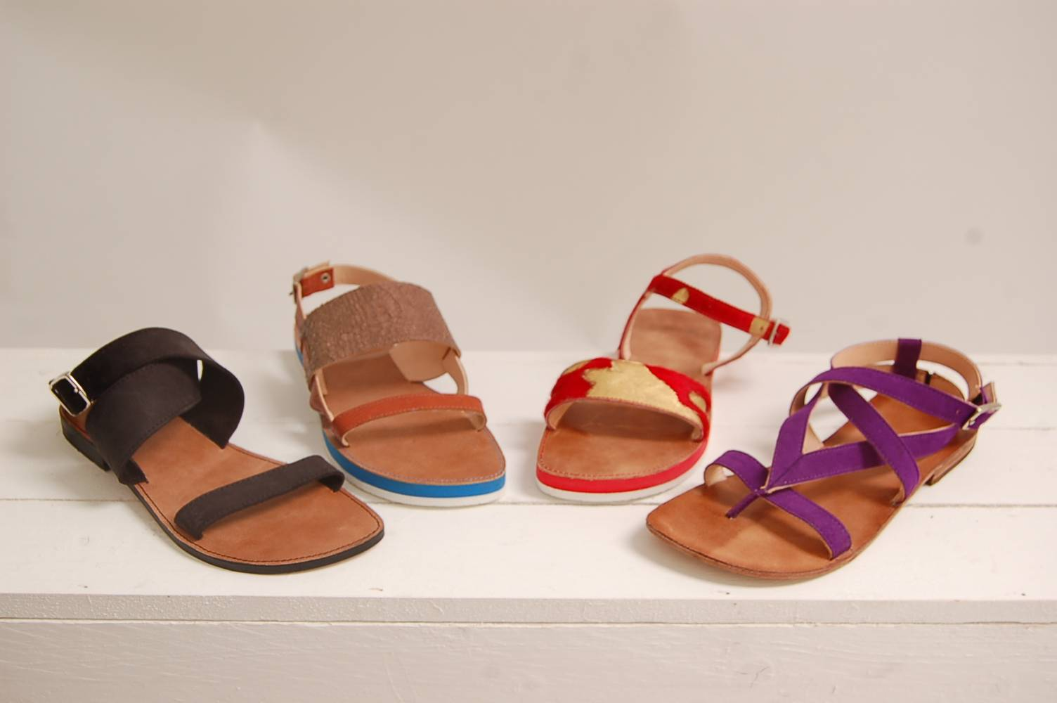 Making sandals in three days